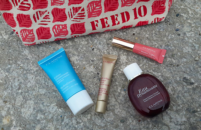 trousse clarins FEED