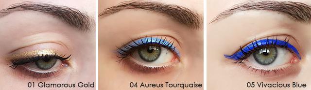 applicazione eyeliner power pop kiko milano