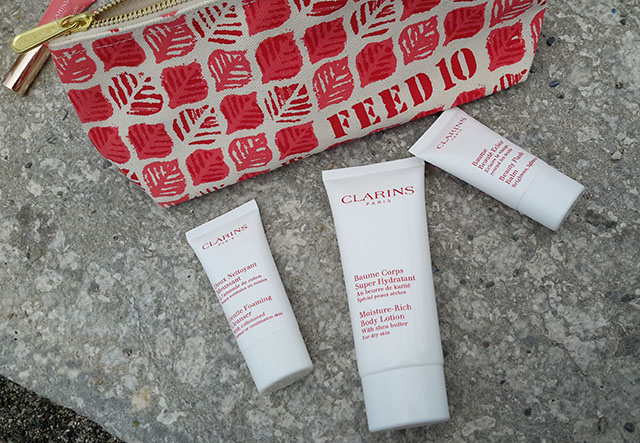 clarins feed trousse