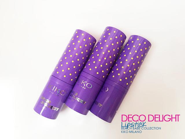 deco lipstick rossetti beach babe kiko milano
