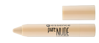 essence pure NUDE concealer #10 open
