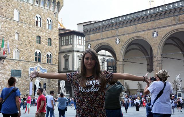 Outifit Piazza della Signora Firenze