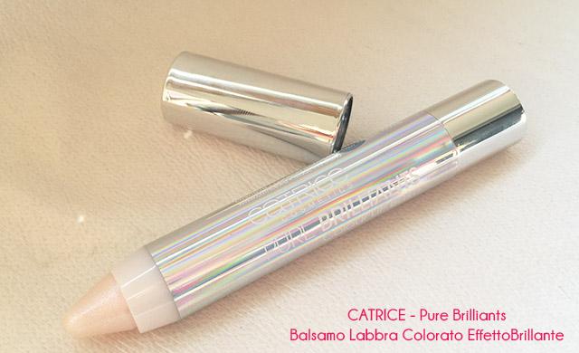 catrice cosmetics -Pure Brilliants-BALSAMO-LABBRA-EFFETTO-BRILLANTE