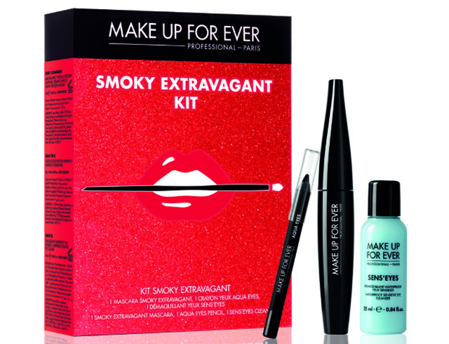 KIT SMOKY EXTRAVAGANT make up for ever regali di natale