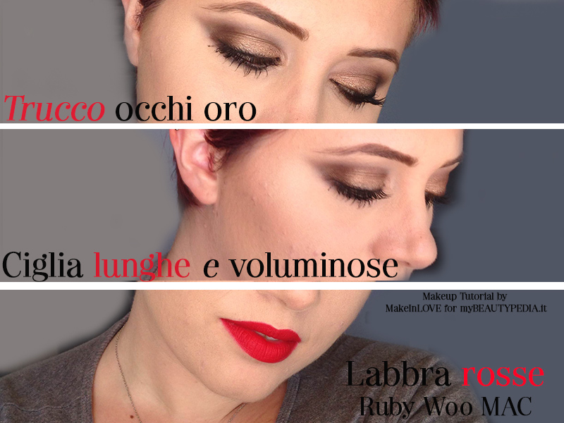 trucco Capodanno makeup tutorial