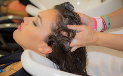 come lavare i capelli