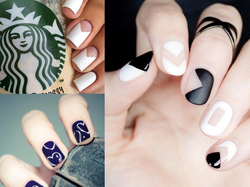 nail art facili per unghie corte