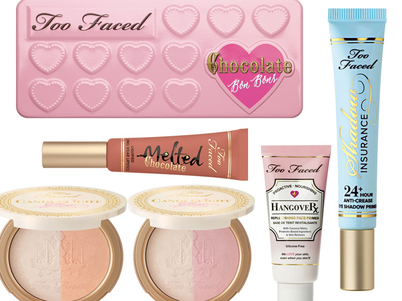 too faced trucco primavera estate 2016