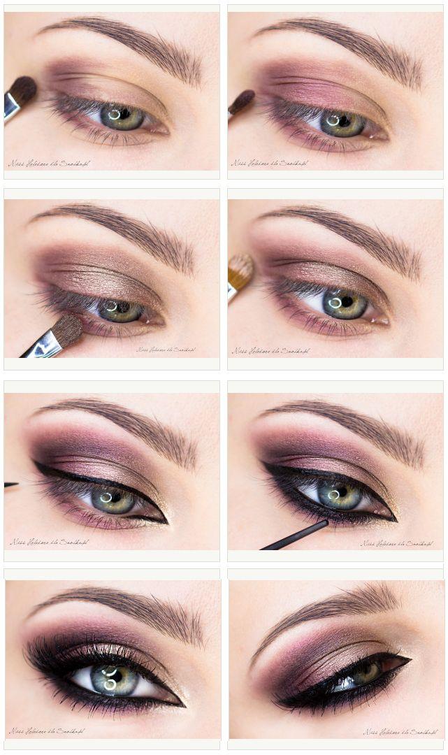Purple-and-Champane-Makeup-Tutorial