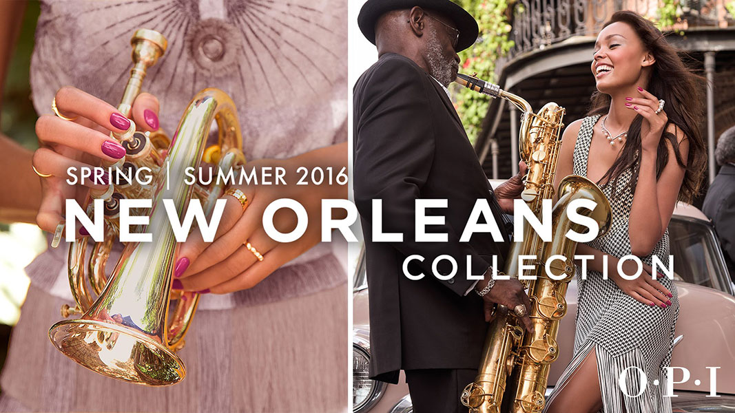 Opi new orleans collezione smalti primavera estate 2016 for Nuovi piani domestici di new orleans
