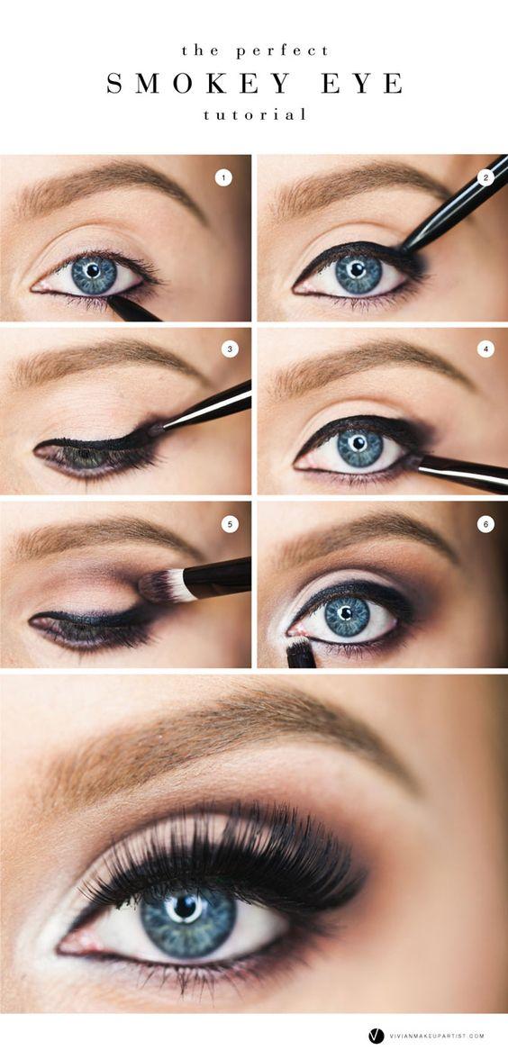 Popolare Tutorial Smokey Eyes: come realizzarlo in pochi step | MYBEAUTYPEDIA WQ06