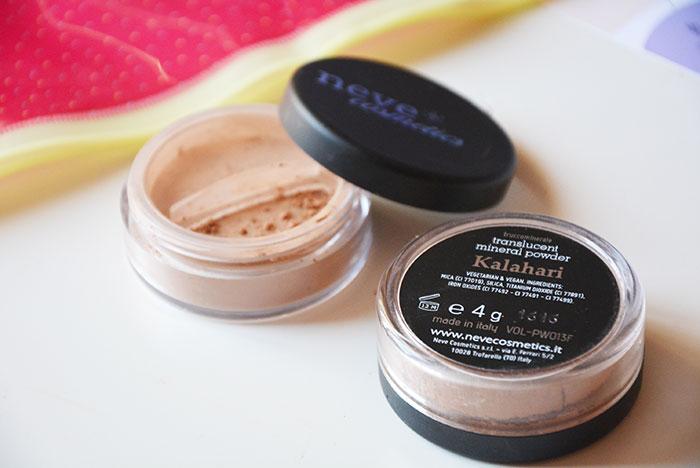 Neve Cosmetics Cipria minerale HD Kalahari