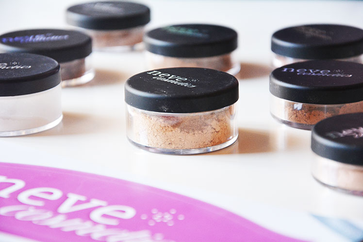 Neve Cosmetics trucco minerale