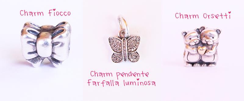 charm pendente farfalla pandora prezzo