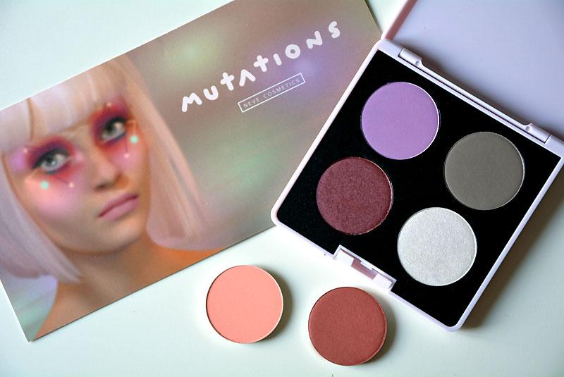 Neve Cosmetics Mutations collezione autunno 2016 cialde Gli Arcobaleni