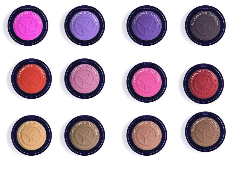 YVES ROCHER ombretti colore vegetale 12 delle 60 tonalità