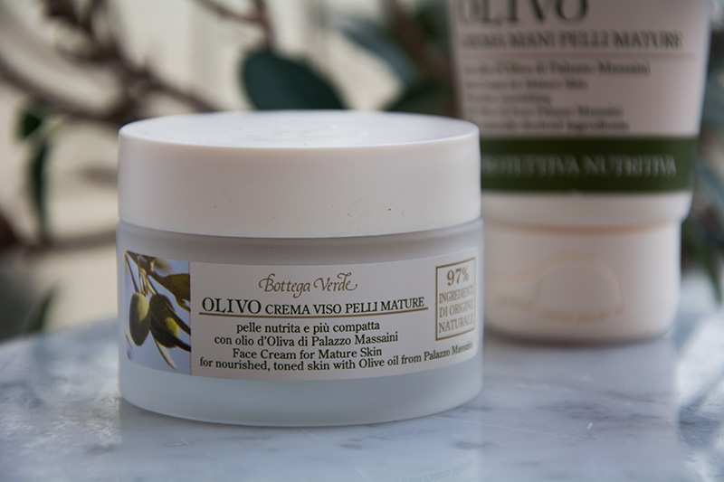 Bottega Verde linea Olivo - crema viso pelli mature