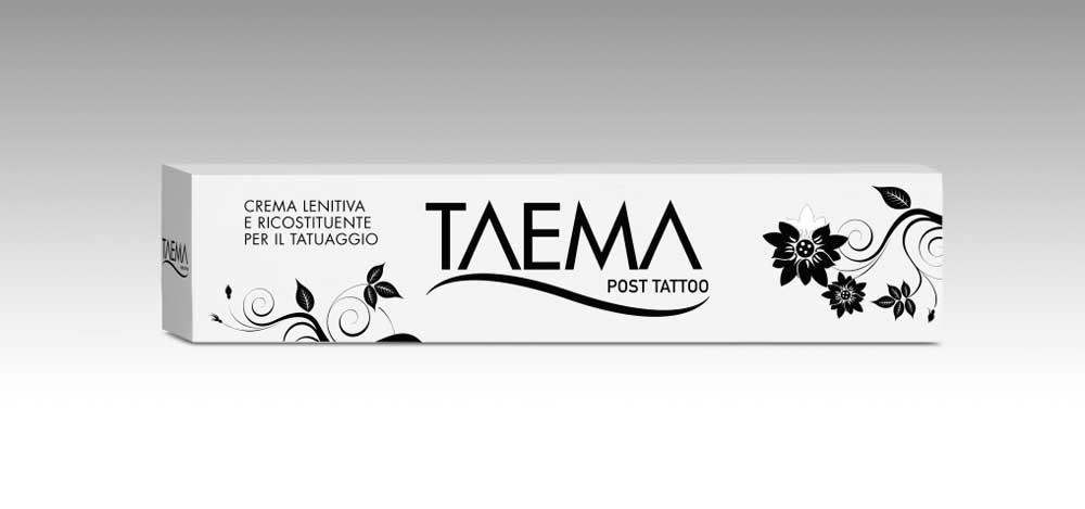 Linea Taema Tattoo - post tatoo