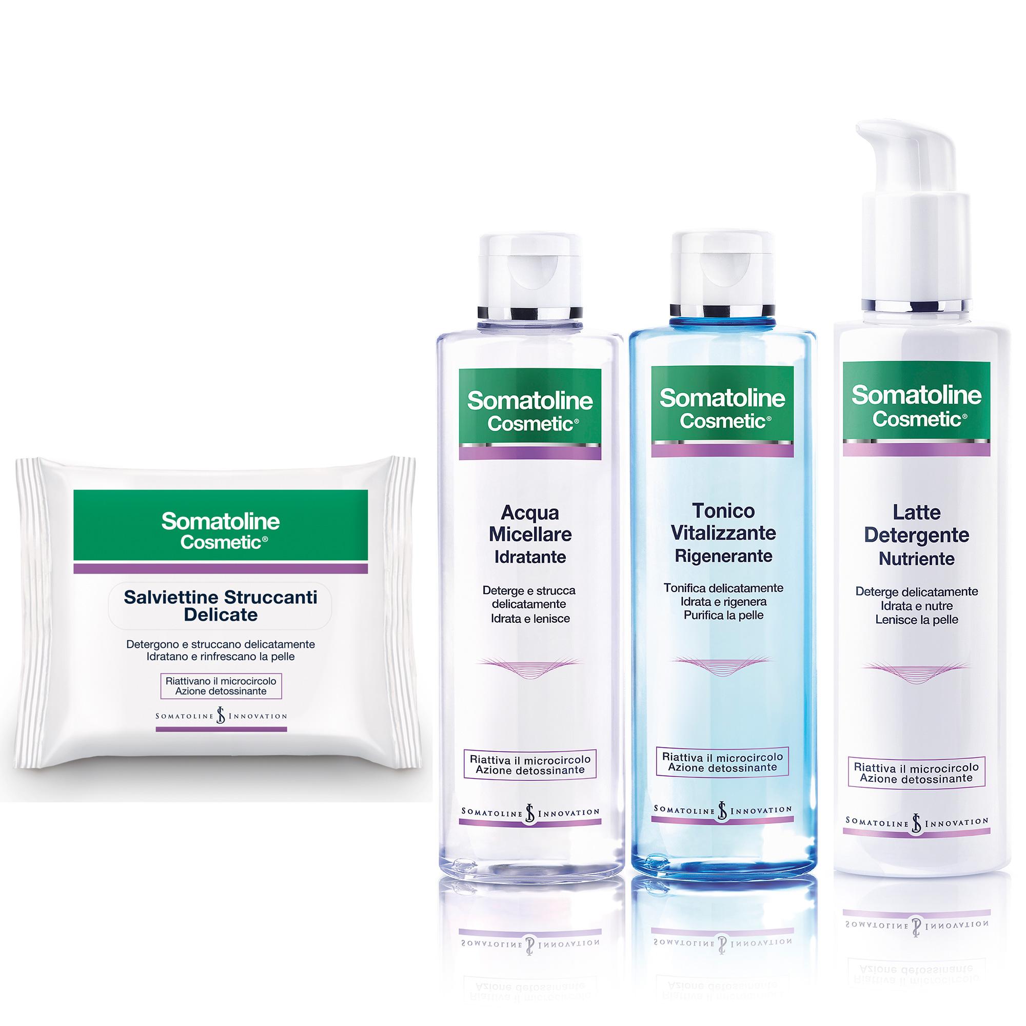 somatoline viso cosmetics linea detox