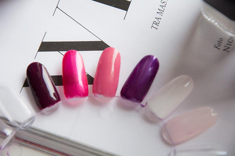 Kiko smalti Smart Nail laquer - swatches