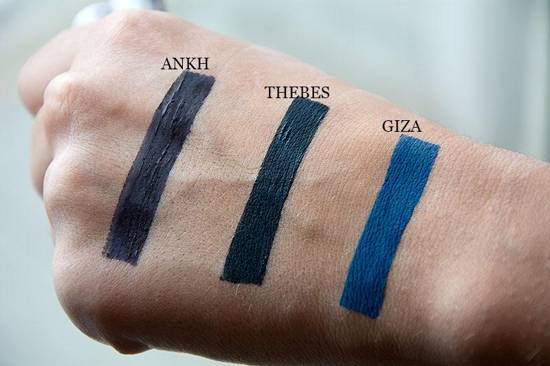 InkMe Neve Cosmetics - Akh, Thebes e Giza