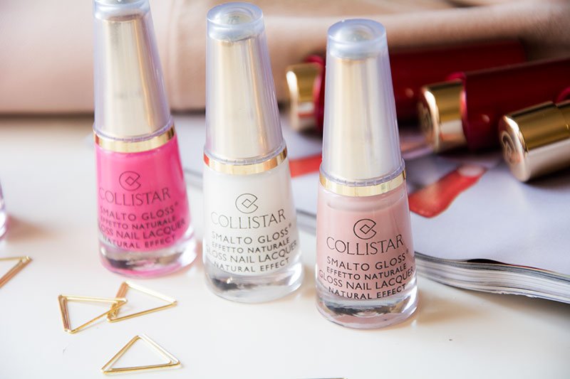 COLLISTAR smalti Gloss effetto naturale