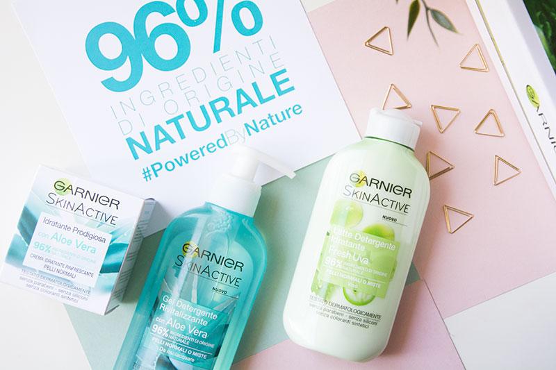 pulizia del viso con Garnier Skin Active