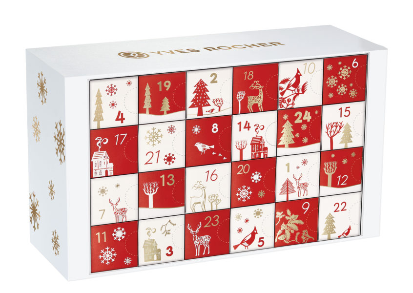 calendario dell'avvento beauty yves rocher