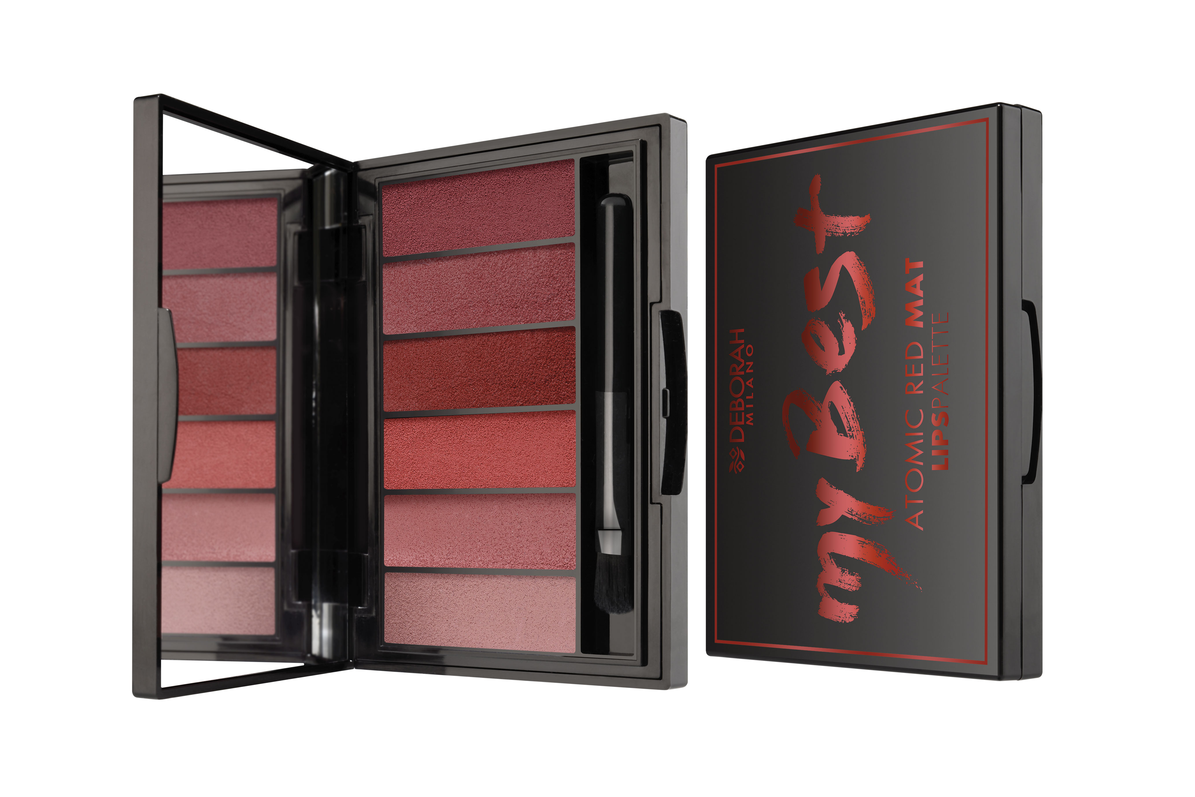 my best palette Deborah milano atomic-red-mat-palette
