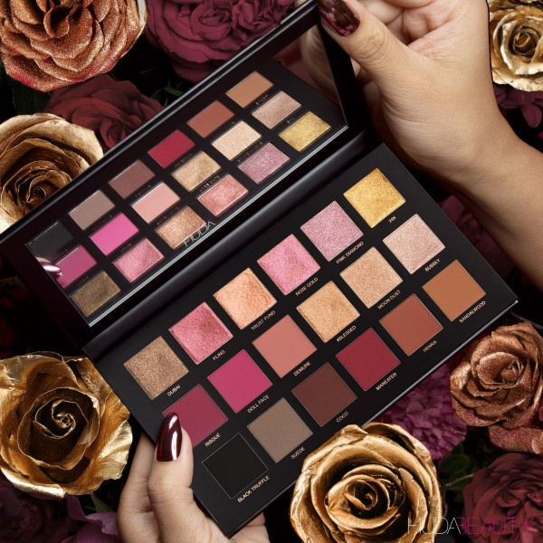 Huda Beauty Palette Rose Gold Remastered