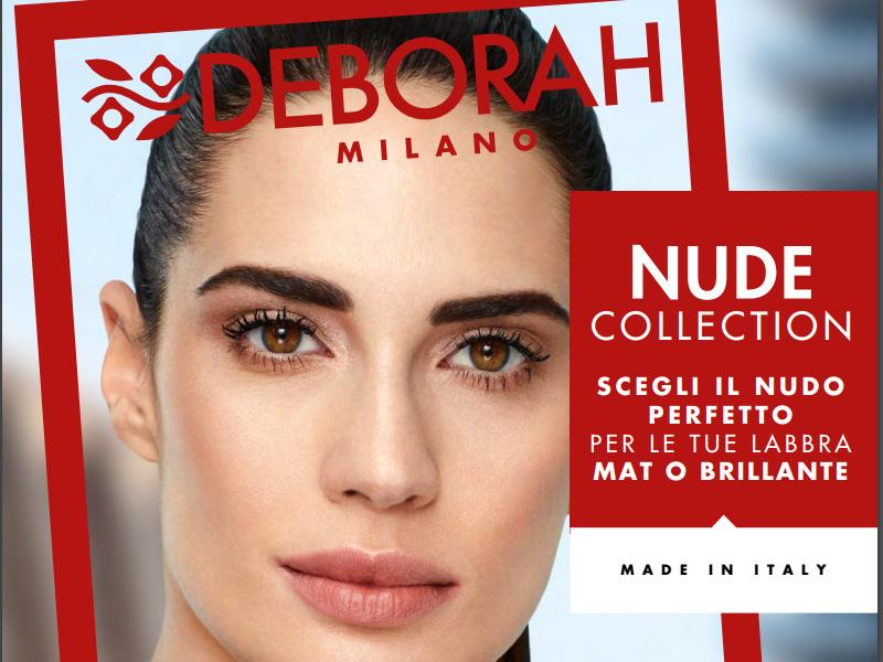 Deborah-Nude-Collection collezione-makeup-estate-2018