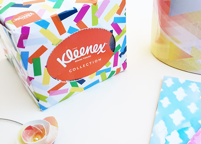 Kleenex® Collection Box Cubo e Kleenex® Collection Box Oval