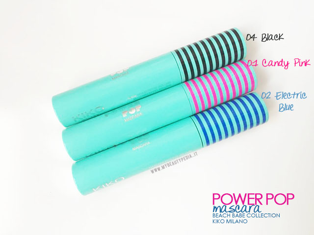 power pop mascara beach babe kiko milano