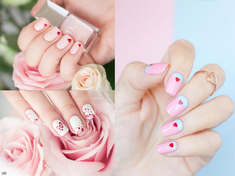 nail art romantiche san valentino