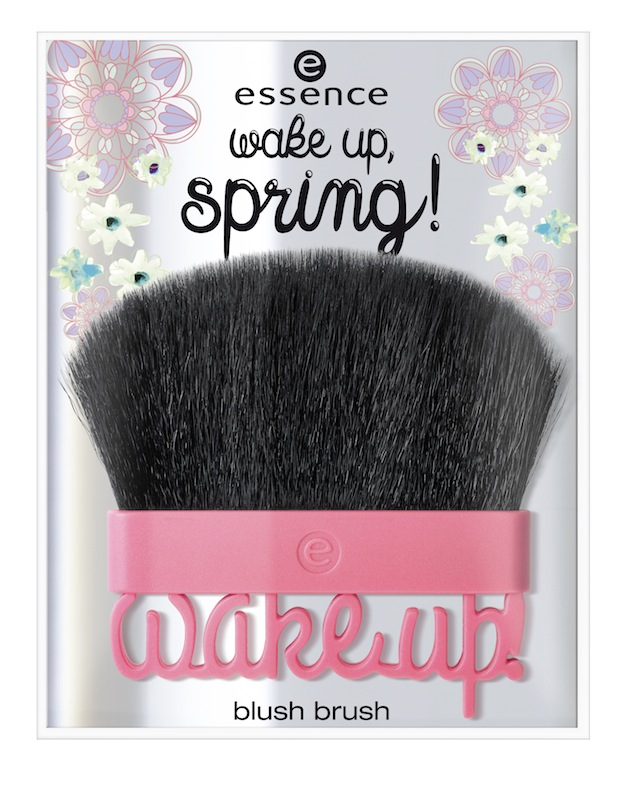 essence wake up, spring blush brush