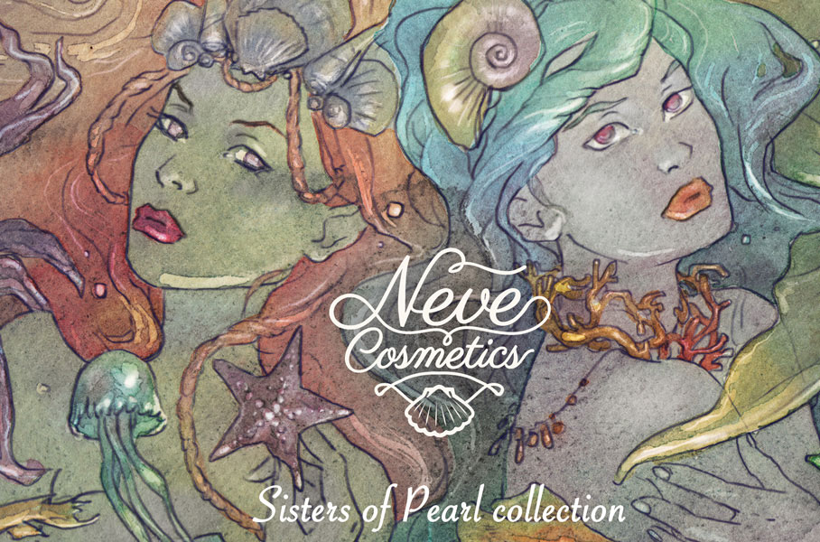 neve cosmetics Sisters of Pearl
