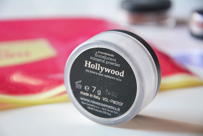 Neve Cosmetics Cipria minerale HD Hollywood