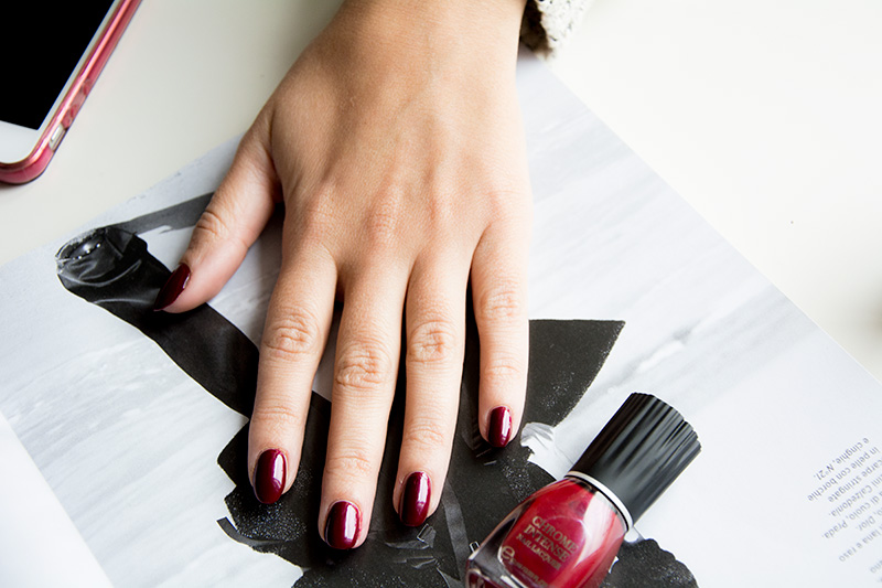 KIKO NEO NOIR Chrome Intense Nail Lacquer - swatches
