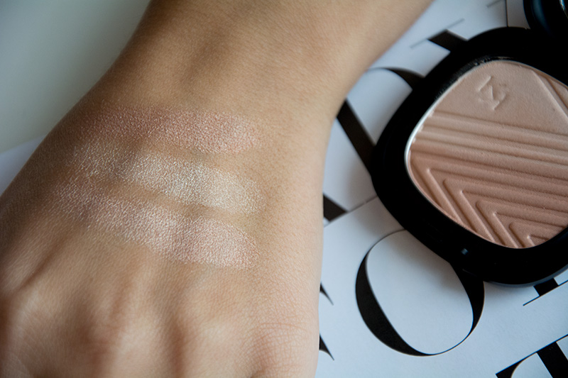 KIKO NEO NOIR  Flower Enriched HighLighter - swatches