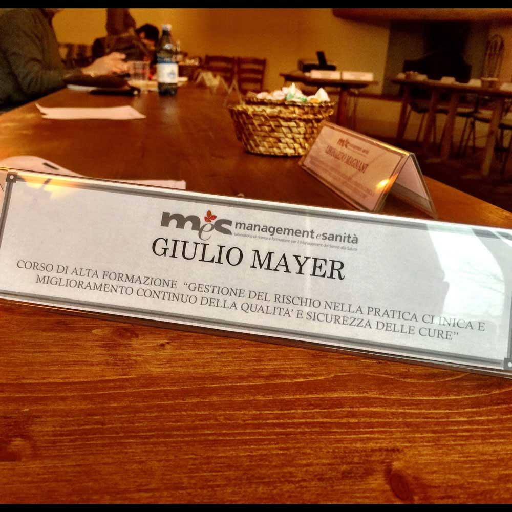 Dottore Giulio Mayer