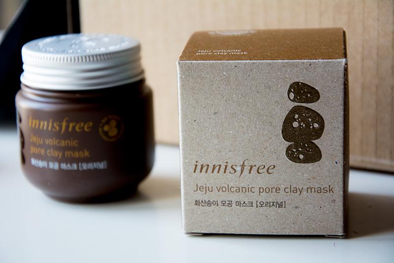 Skin Care coreana Korean fata - maschera vulcanica