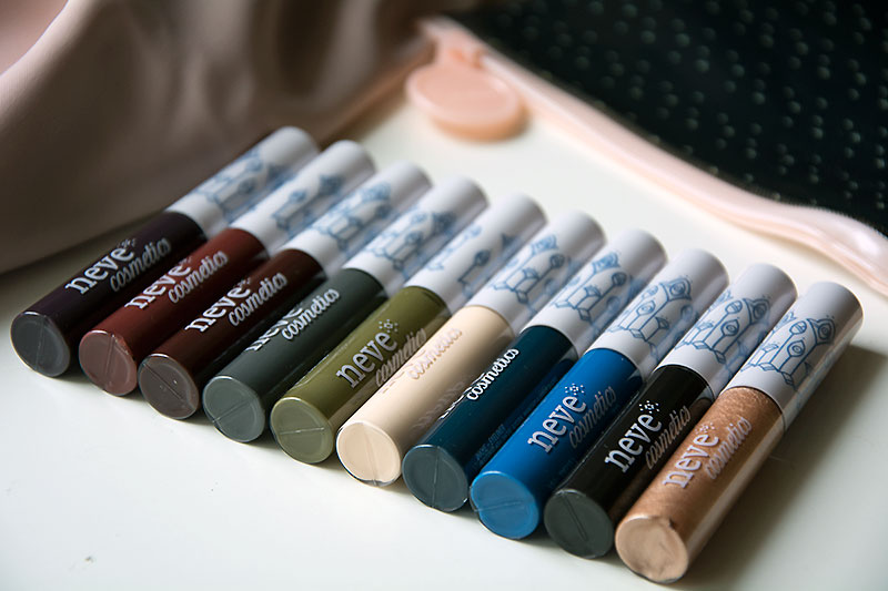 InkMe Me Neve Cosmetic - i colori