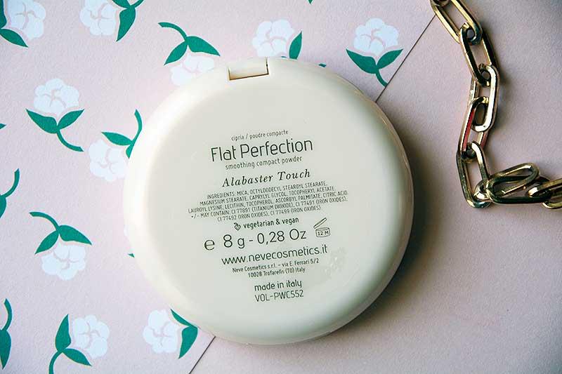 Cipria compatta Neve Cosmetics Alabaster Touch