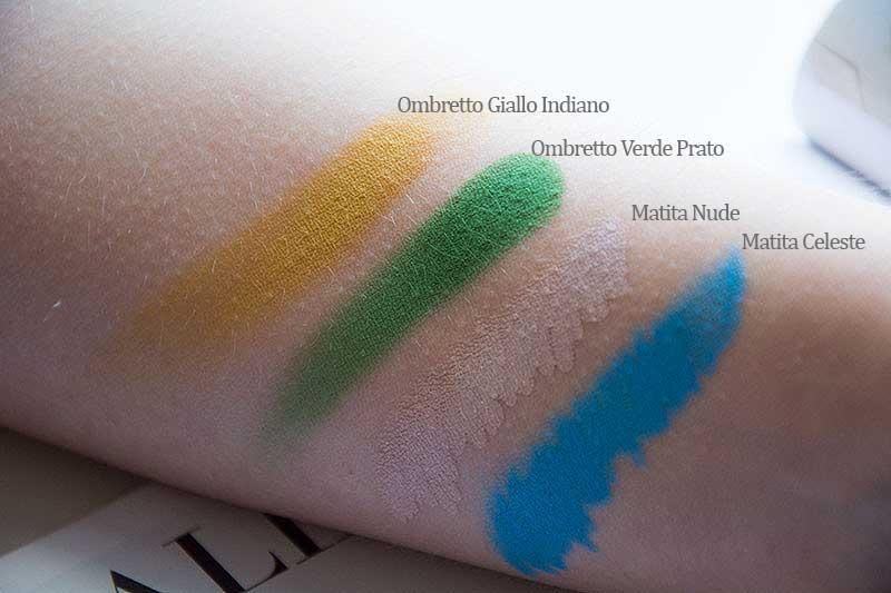 PuroBIO collezione Beleza swatches ombretti