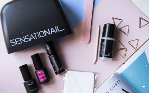 unghie in gel starter kit sensationail