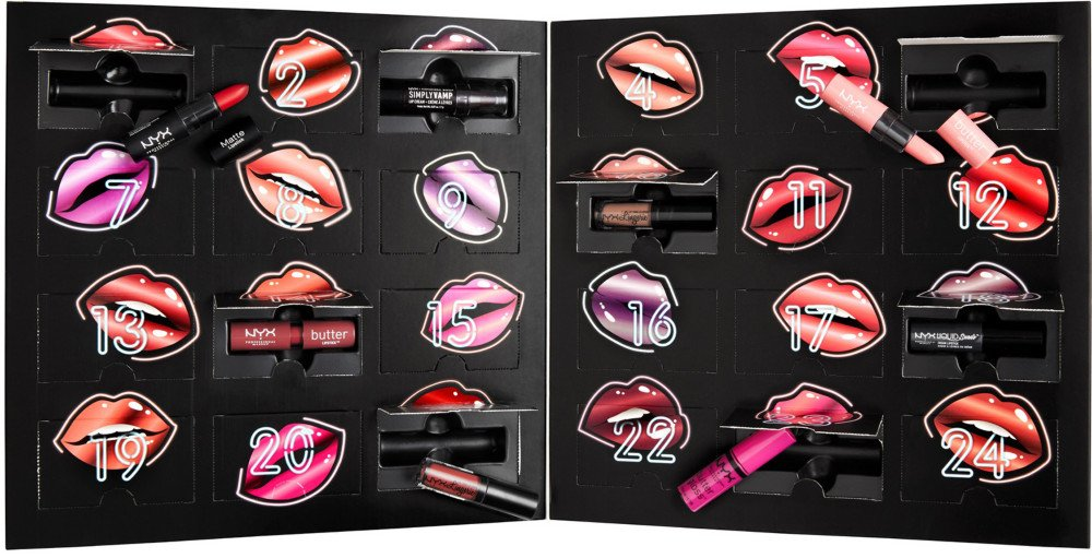 calendario avvento beauty nyx