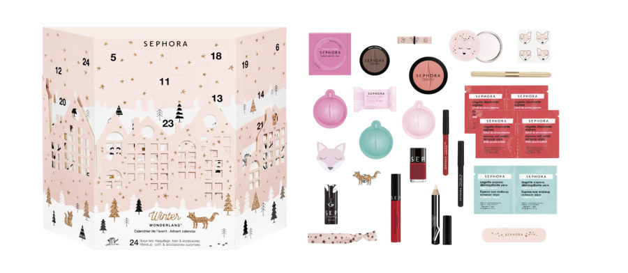 calendario dell'avvento beauty sephora