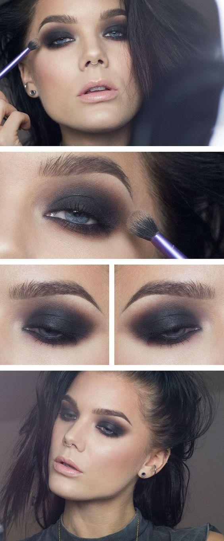 smokey eyes nero