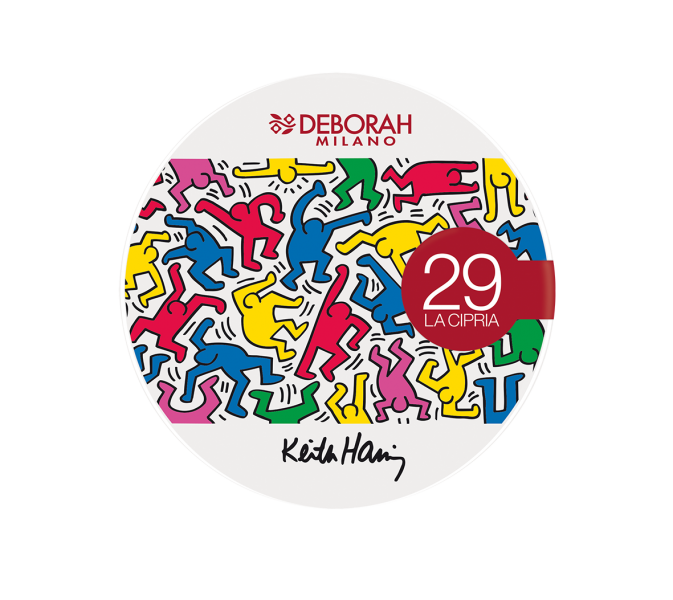 Deborah Milano Keith Haring Design Collection La Cipria