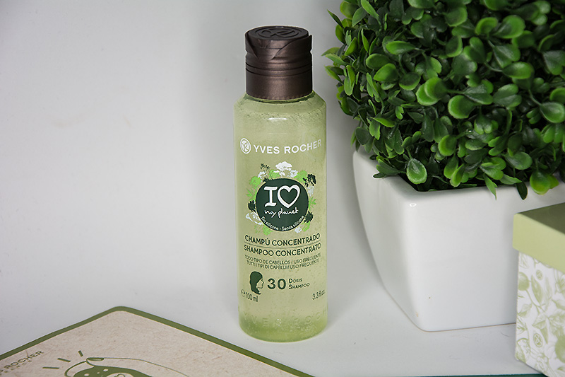 Yves Rocher Shampoo concentrato lucentezza I LOVE MY PLANET